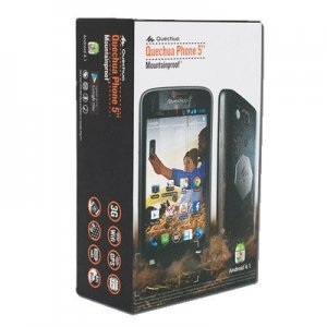 Decathlon releases waterproof smartphone - the Quechua