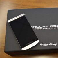 BlackBerry shows their new phone - the Porsche Design P'9982