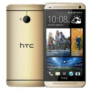 HTC One with a new color - champagne gold