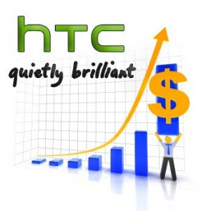 HTC in November with $522 million revenue
