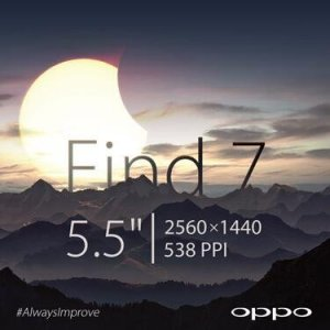Oppo Find 7 official specification