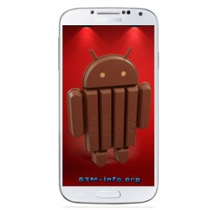 Samsung Galaxy S4 with Android 4.4 KitKat