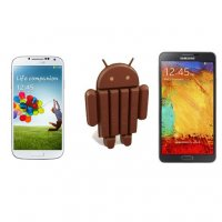 Galaxy S4 and Note 3 with Android 4.4